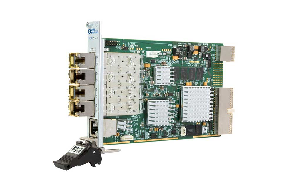 PXI 6141 Ethernet Controler