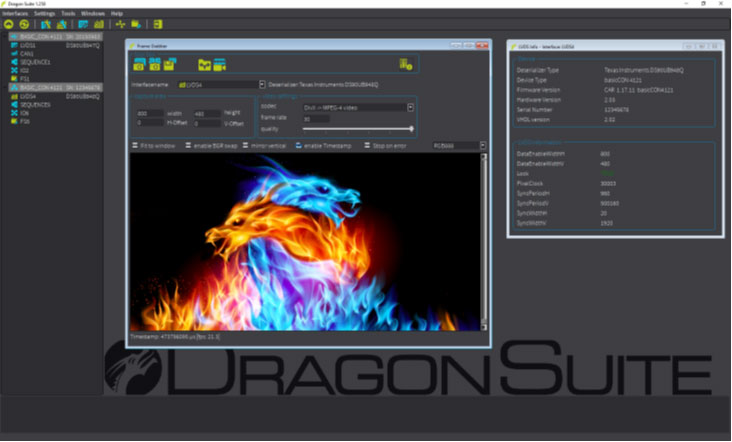 Dragon Suite Advanced Screen