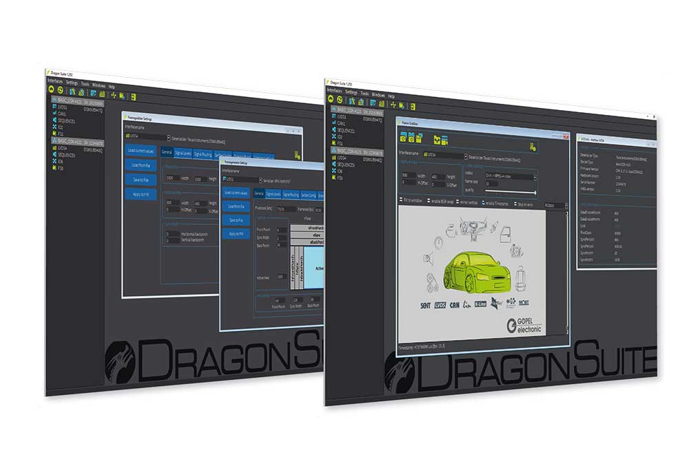 Dragon Suite Control Software