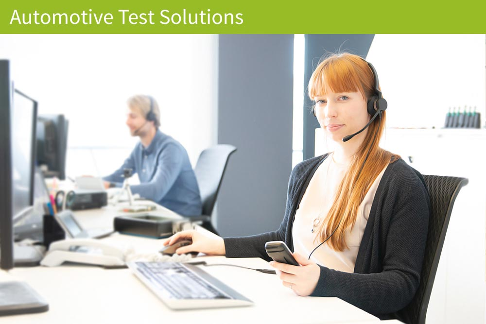 Support Automotive Test Solutions