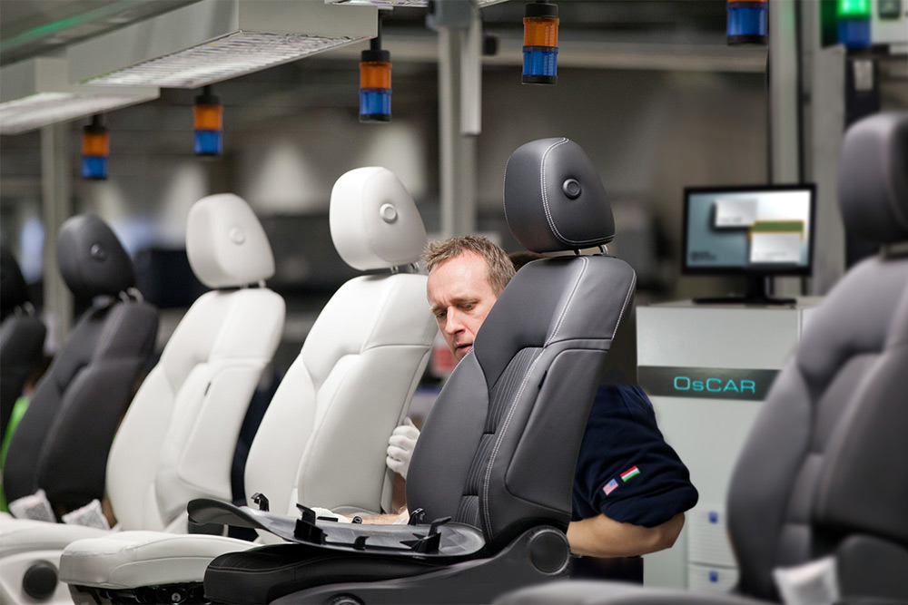 Seat Test System in the Production