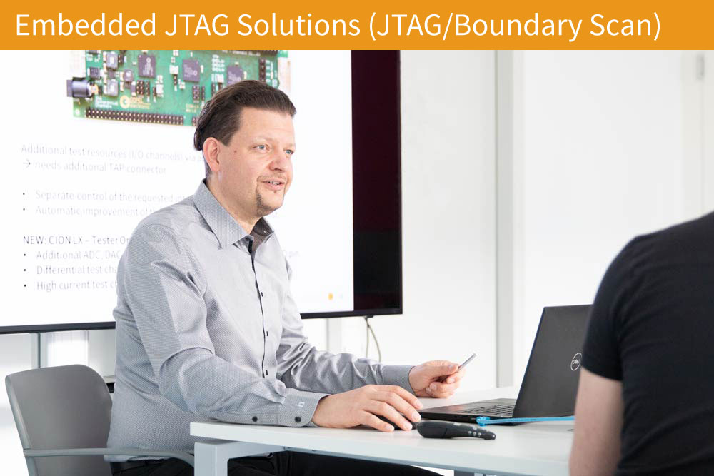 Support Embedded JTAG Solutions (JTAG/Boundary Scan)