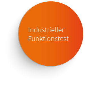 Industrieller Funktionstest