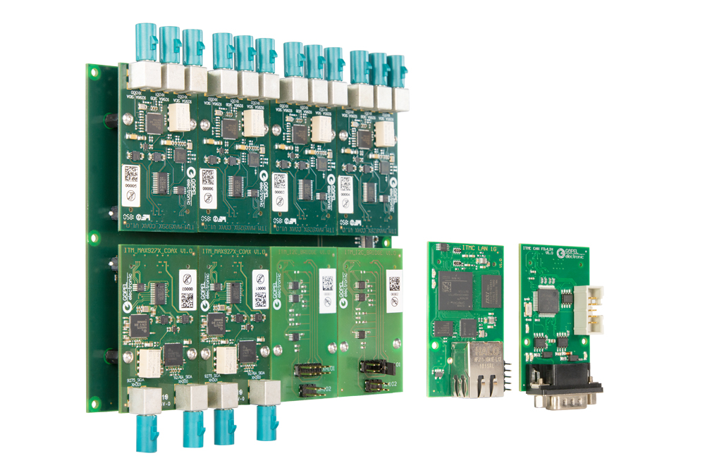 Plug-on Modules for Interface Testing of CAN-FD and Ethernet